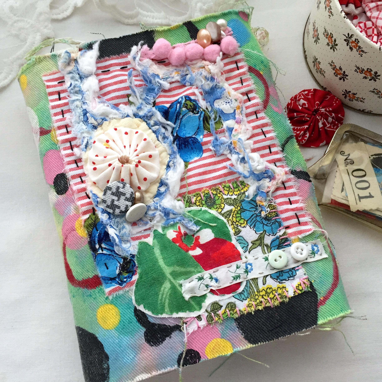 Fabric Journals Patty Radish